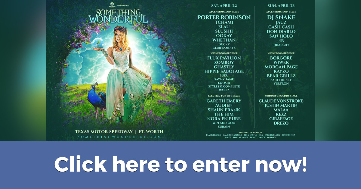Win a pair of VIP tickets to Something Wonderful on 4/22-23!