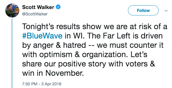 Scott Walker tweets