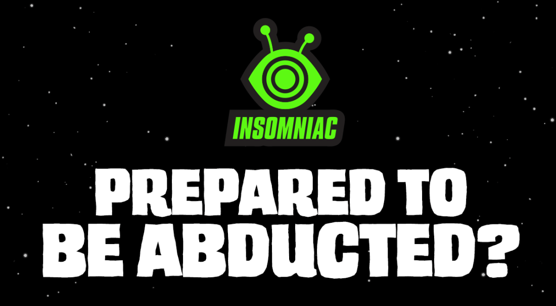 Prepared To Be Abducted?