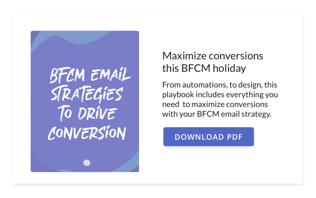 Hive's BFCM Playbook: Email Strategies to Drive Conversion